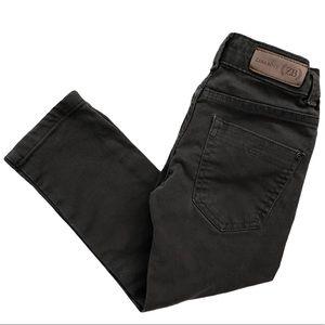 Zara Boys Olive Green Skinny Jeans Size 3/4